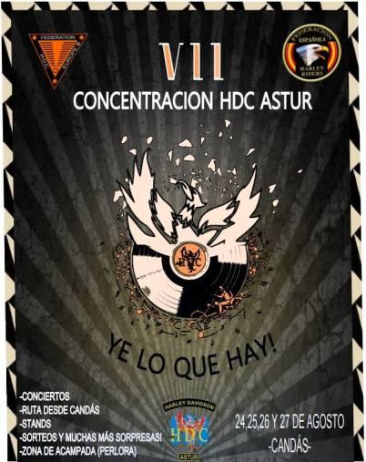 cartel VII HDC Astur