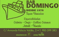 BAR DOMINGO 60€
