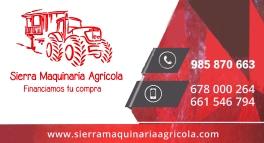 SIERRA MAQUINARIA AGRICOLA 60€