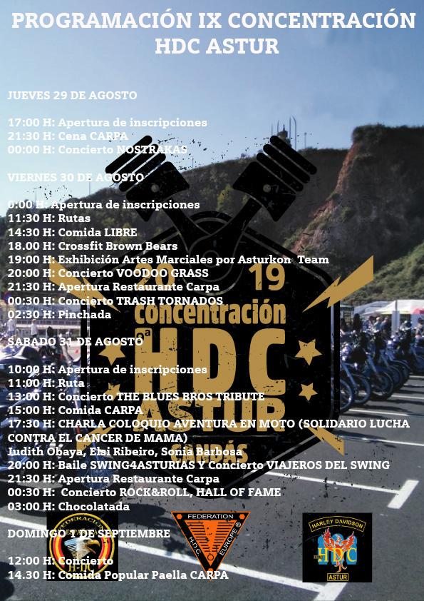 PROGRAMACION IX CONCENTRACIÓN HDC ASTUR